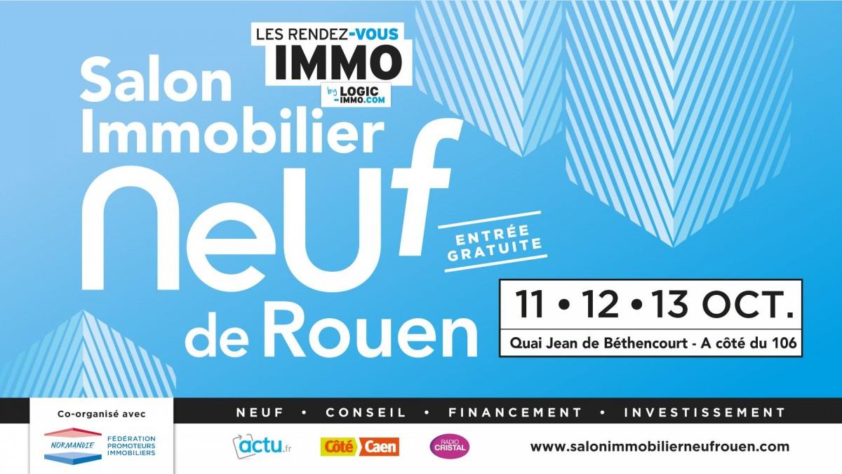 Salon immobilier neuf Rouen 11,12 et 13 octobre 2019