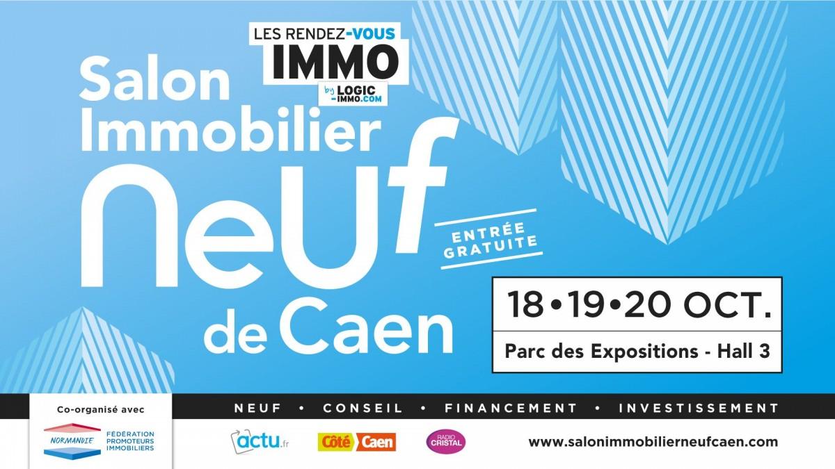 Salon immobilier neuf Caen : 18 au 20 octobre 2019