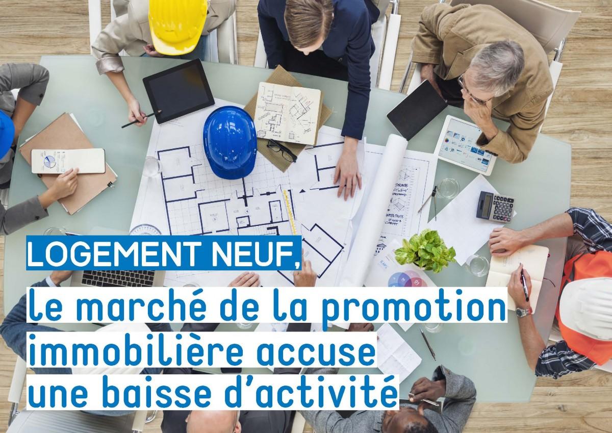 Logement neuf : en Normandie, le marché de la promotion immobilière accuse une baisse d'activité