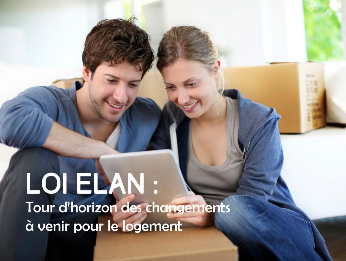 Loi Elan : des changements à venir pour le logement