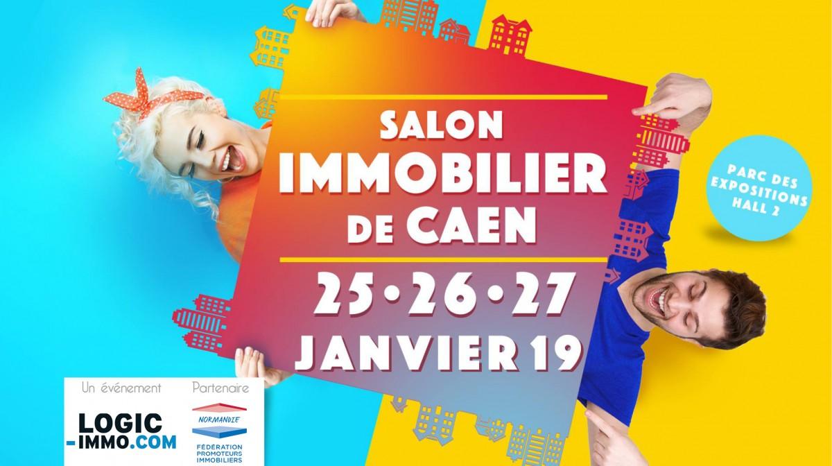Salon immobilier de Caen : 25, 26 et 27 janvier 2019